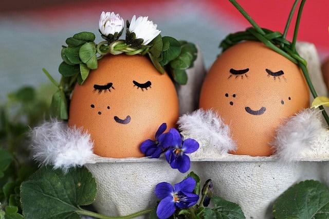chasse aux œufs au restaurant parfum du Vietnam