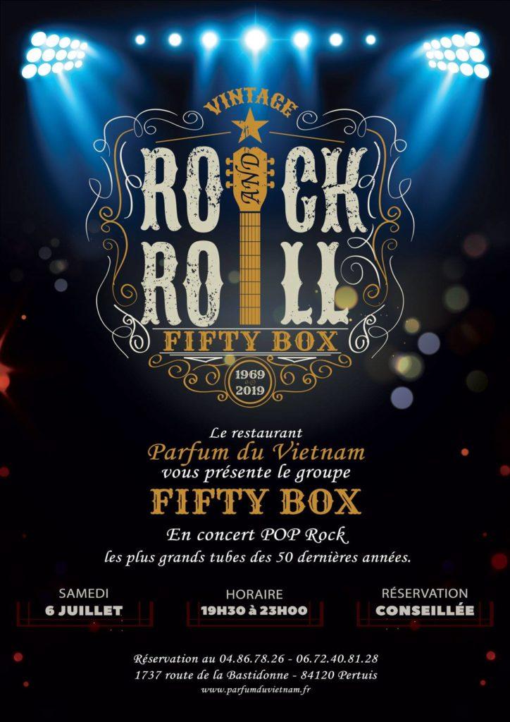 Les Fifty-Box en concert au Parfum du Vietnam de Pertuis